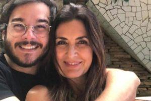 Fátima Bernardes e Túlio Gadêlha estão vivendo vida de casados (Foto: Reprodução)