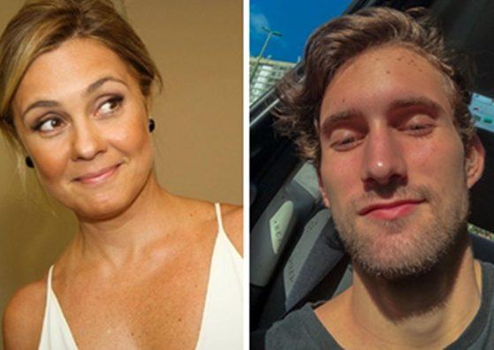 Adriana Esteves e Felipe Ricca (Foto: Montagem/TV Foco)