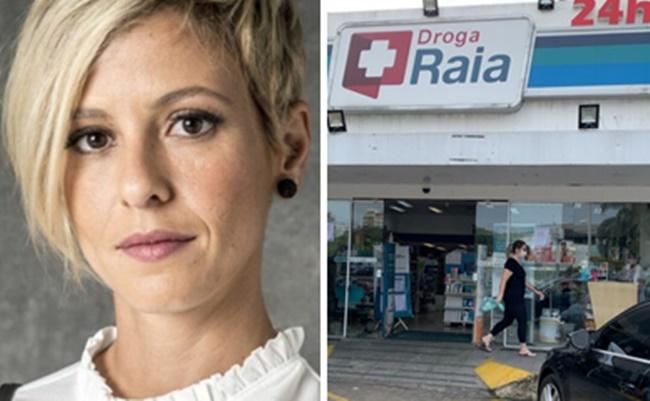 Fernanda de Freitas foi acusada de roubar farmácia e fez desabafo em rede social (Foto: Montagem/TV Foco)