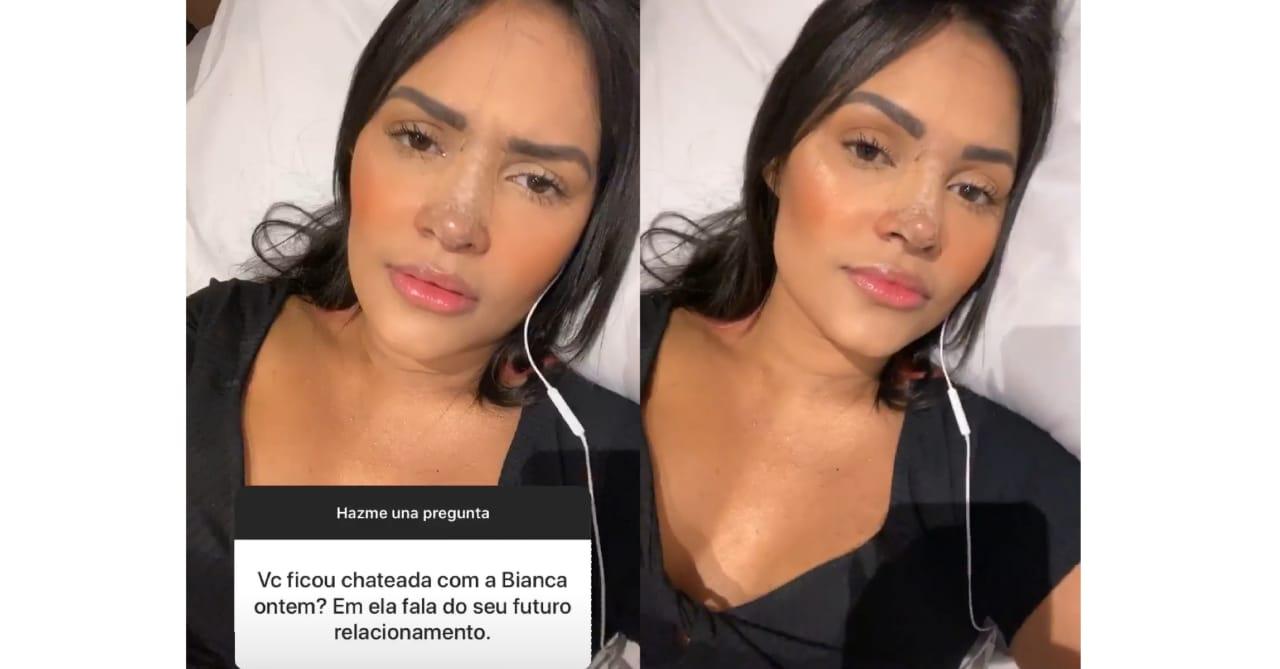 Flayslane responde pergunta de fãs sobre comentário de Bianca (Foto: Reprodução/Instagram)