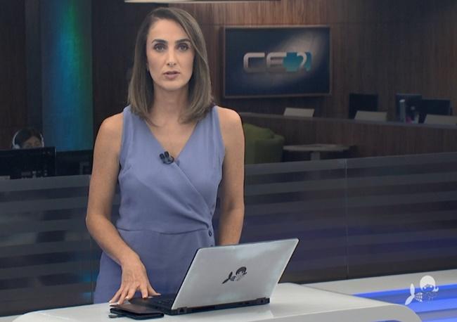 Telejornal: Jornalista pegou telespectadores de surpresa com notícia inesperada (Foto: Reprodução)