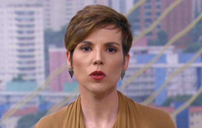 Glória Vanique está afastada da apresentação do Bom Dia São Paulo (Foto: Reprodução)