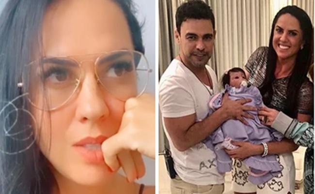 Graciele Lacerda e Zezé Di Camargo sonham em ter um filho juntos (Foto: Montagem/TV Foco)
