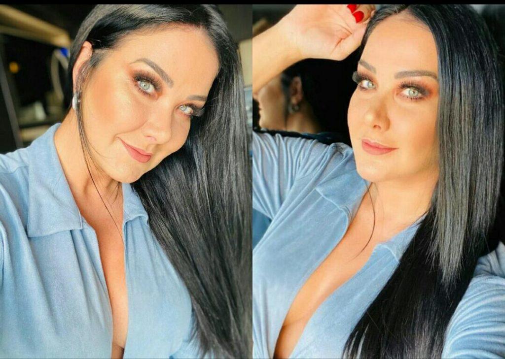 Modelo Helen Ganzarolli posta foto exibindo decote e público comenta (Foto: Reprodução/Instagram)