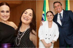 Gabriela Duarte é filha de Regina Duarte. (Foto: Montagem/Divulgação)