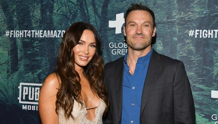 Megan Fox ao lado do ex-marido, Brian Austin Green. (Foto: Divulgação)