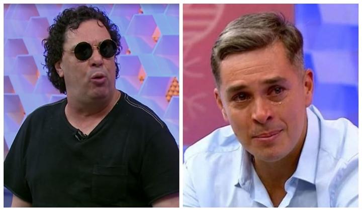 Casagrande e Ivan Moré já tiveram desentendimentos na Globo. (Foto: Reprodução)
