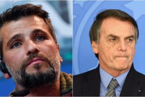 Bruno Gagliasso reagiu a comentário de Bolsonaro. (Foto: Montagem/Divulgação)