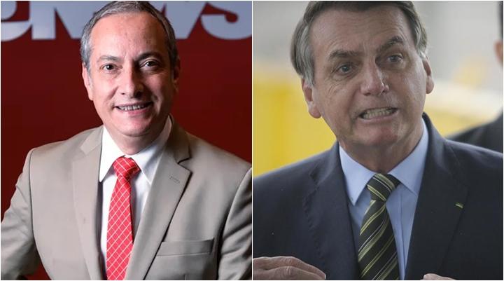 José Roberto Burnier rebateu o presidente Jair Bolsonaro. (Foto: Montagem/Divulgação)