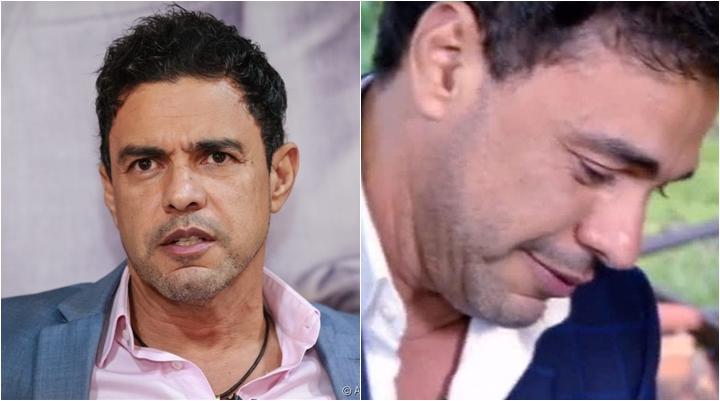 O famoso cantor sertanejo, Zezé Di Camargo agitou as redes sociais após ter futuro exposto (Foto: Montagem/Reprodução/AGNews)