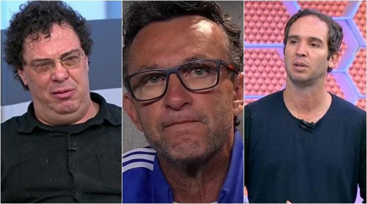 Neto falou sobre a discussão envolvendo Casagrande e Cio Ribeiro. (Foto: Montagem/Reprodução)