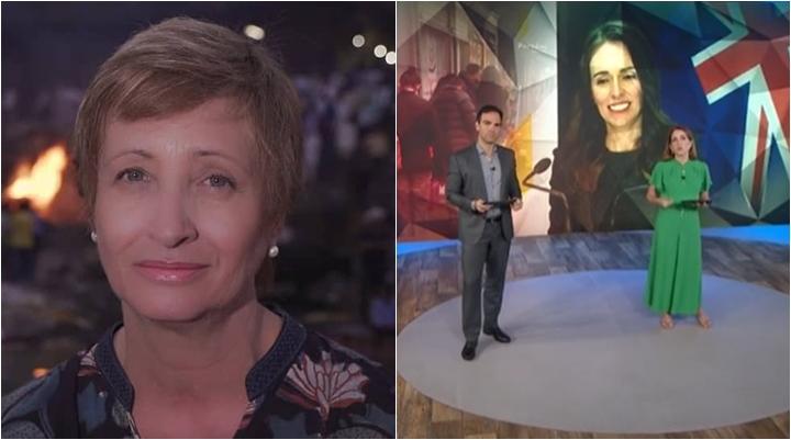 Sônia Bridi rebateu internauta por cobrança sobre reportagem da Globo. (Foto: Montagem/Reprodução)