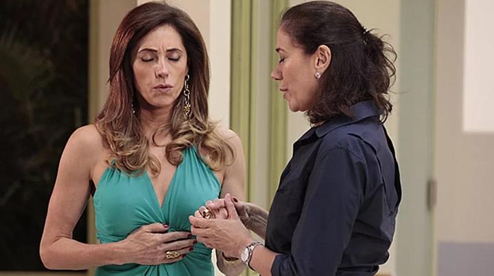 Christiane Torloni e Lília Cabral em cena de Fina Estampa. (Foto: Divulgação)