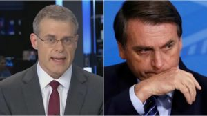 Band criticou Bolsonaro através de editorial. (Foto: Montagem/Reprodução)
