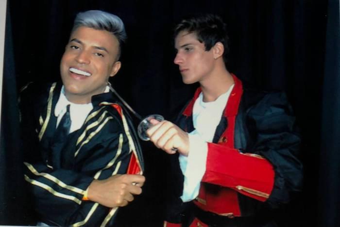 Irinaldo Oliver e Tiago Ramos (Foto: Reprodução)