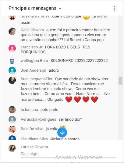 Fãs perdem a volta de Victor e live protagonizada por Léo Chaves (Foto: Reprodução)