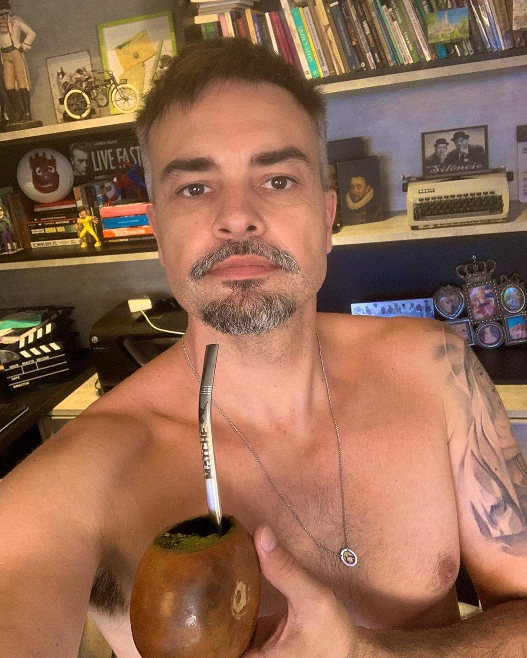 O ator atualmente, aos 41 anos (Foto: reprodução)