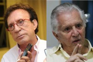Moacyr Franco e Carlos Alberto de Nóbrega (Foto: Divulgação)