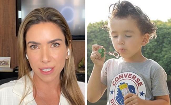 Patrícia Abravanel falou sobre dificuldade enfrentada com o filho durante a quarentena (Foto: Montagem/TV Foco)