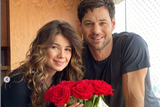 Paula Fernandes e Rony Cecconello (Foto: Reprodução)