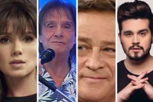 Paula Fernandes se envolveu em polêmica com diversos cantores (Foto: Montagem/TV Foco)