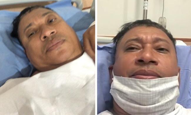 Cirurgia: Pedro Manso luta para não perder rim (Foto: Montagem/TV Foco)