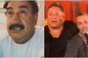 Ratinho, Eduardo Costa e Leonardo (Foto: Reprodução)