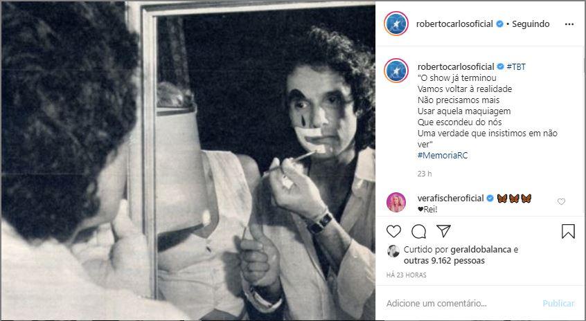 Roberto Carlos (Foto: Reprodução)