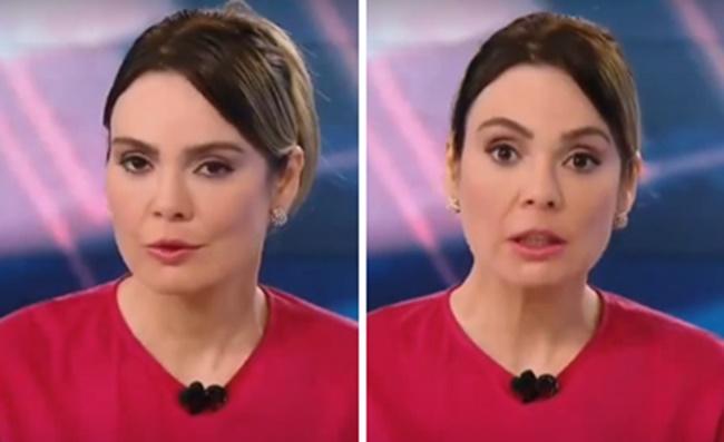 Rachel Sheherazade descobriu ordem de Silvio Santos o SBT (Foto: Montagem/TV Foco)