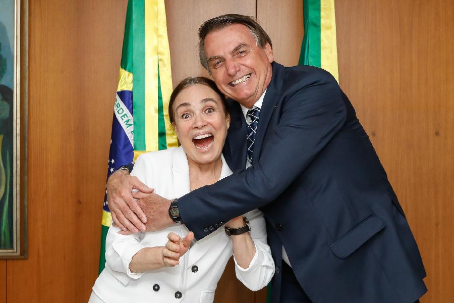 Regina Duarte, Jair Bolsonaro