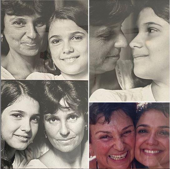 Sandra Annenberg faz homenagem para a mãe (Foto: Reprodução)