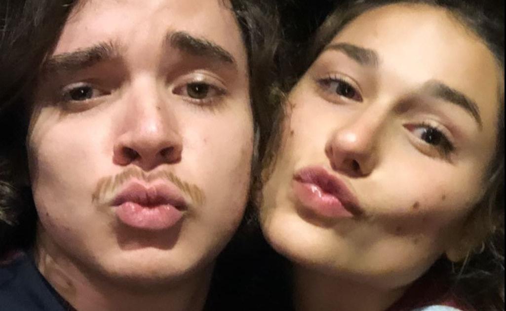 Sasha ao lado do namorado João Figueiredo (Foto: Reprodução)