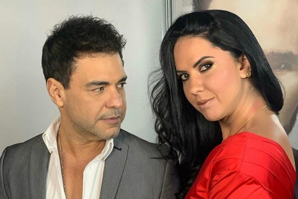 Zezé di Camargo e Graciele Lacerda foram flagrados em clínica (Foto: Divulgação)