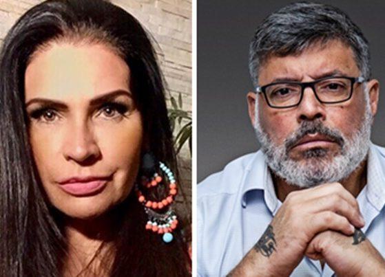 Solange Gomes conta que se recusou a transar com Alexandre Frota (Foto: Montagem/TV Foco)
