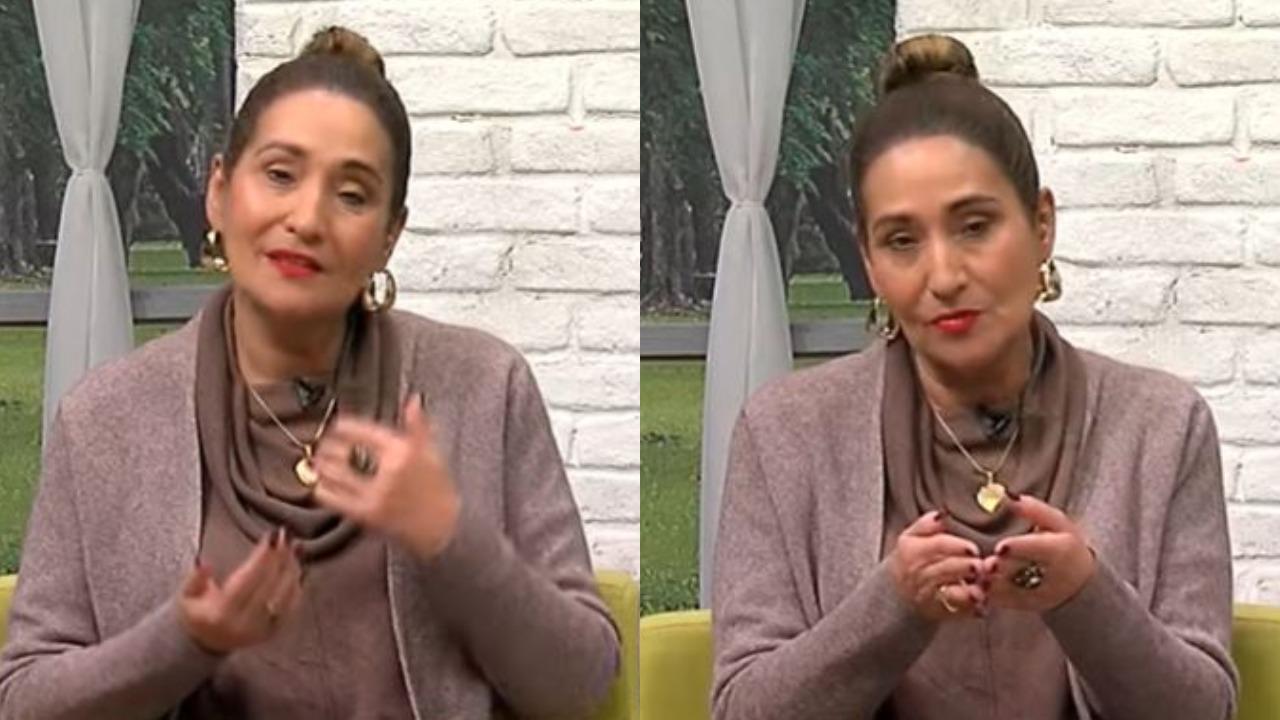Sonia Abrão é apresentadora do A Tarde é Sua (Foto: Reprodução/RedeTV!)