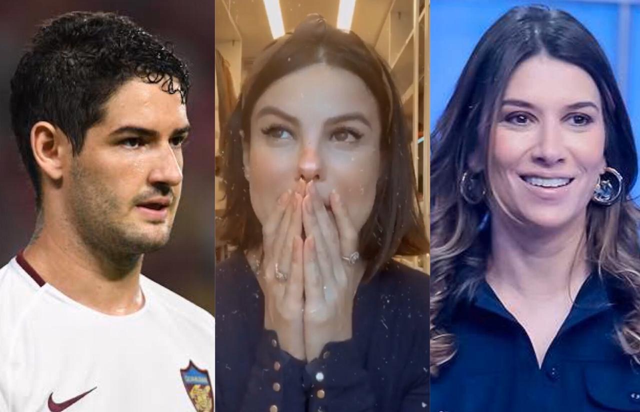 Sthafany Brito, Alexandre Pato, Rebeca Abravanel