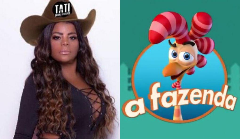 Tati Quebra Barraco pode entrar no reality A Fazenda 12 (Foto: Montagem)