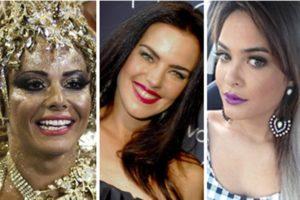 Viviane Araújo, Ana Paula Arósio e Geisy Arruda (Foto: Reprodução)