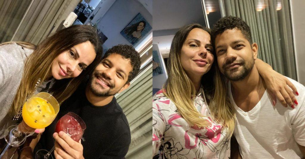 Viviane Araújo passa quarentena ao lado do namorado (Foto: Reprodução/Instagram)