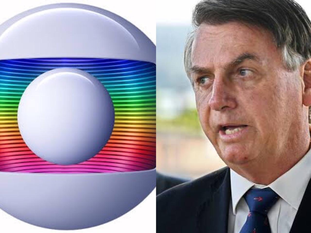 Bolsonaro declarou guerra contra a Globo(Foto: TV Foco)