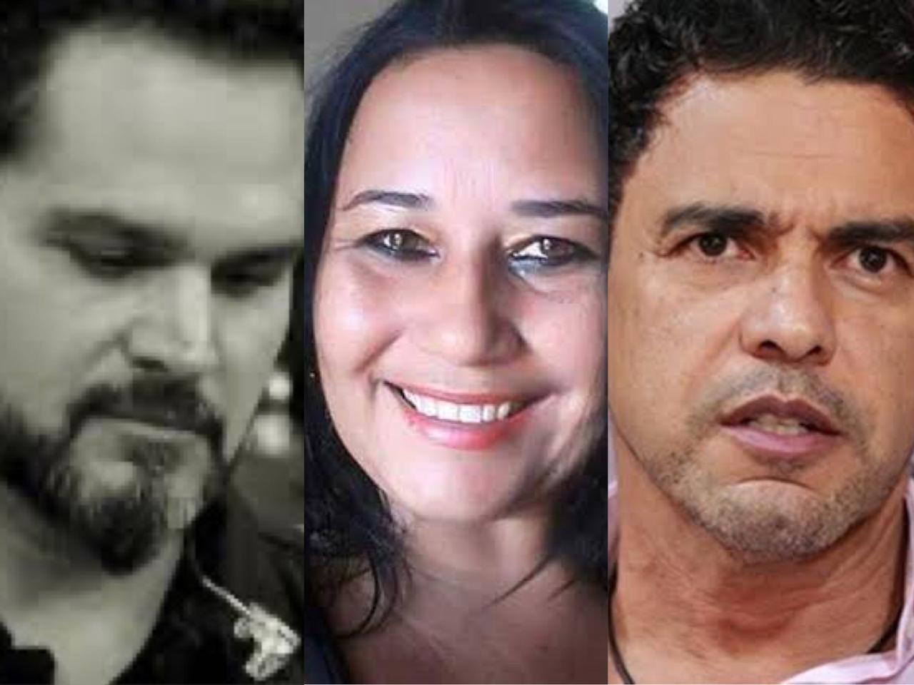Luciano Camargo, Cleo Loyola e Zezé di Camargo (Foto: Divulgação)