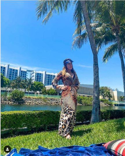 Zilu está em Miami (Foto: Reprodução)