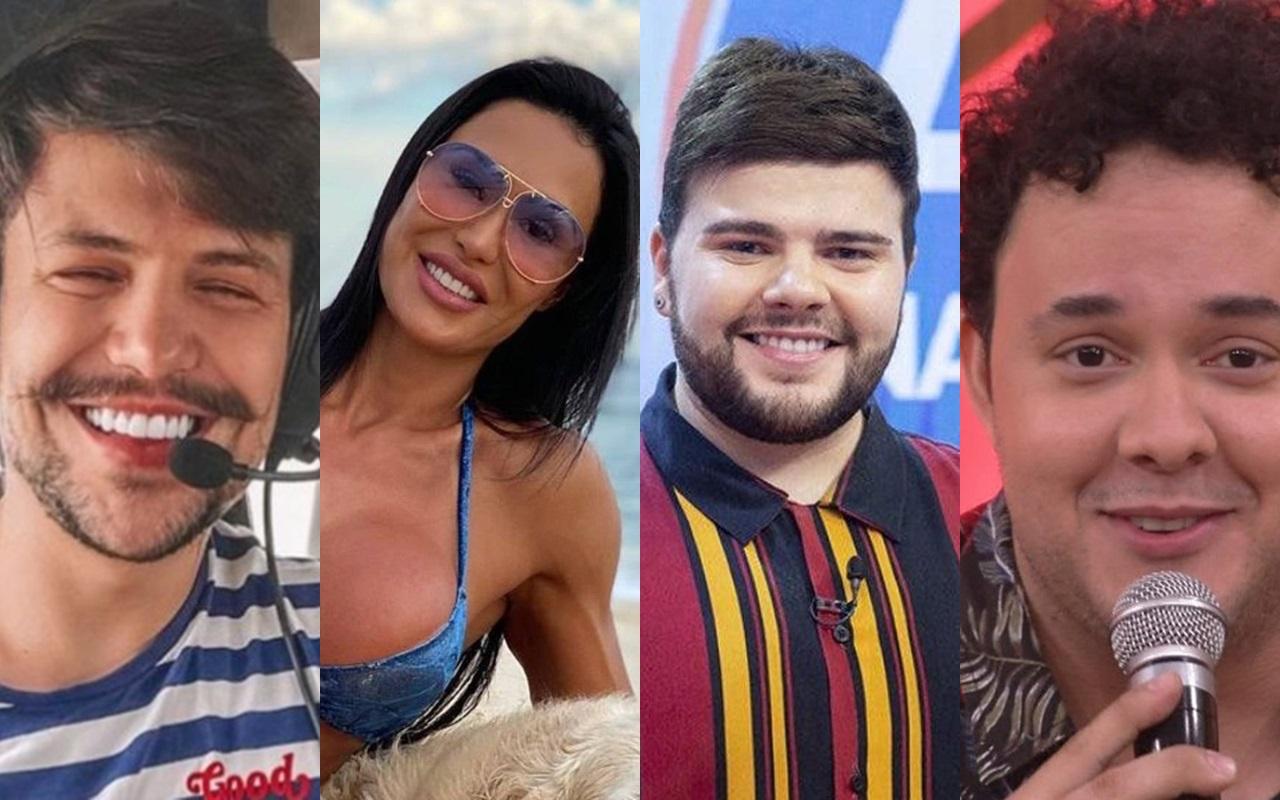 Supostos participantes de 'A Fazenda 12' (Foto: Montagem TV Foco)