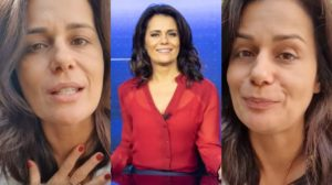 Adriana Araújo é âncora do Jornal da Record (Foto: Reprodução/Record/Instagram)