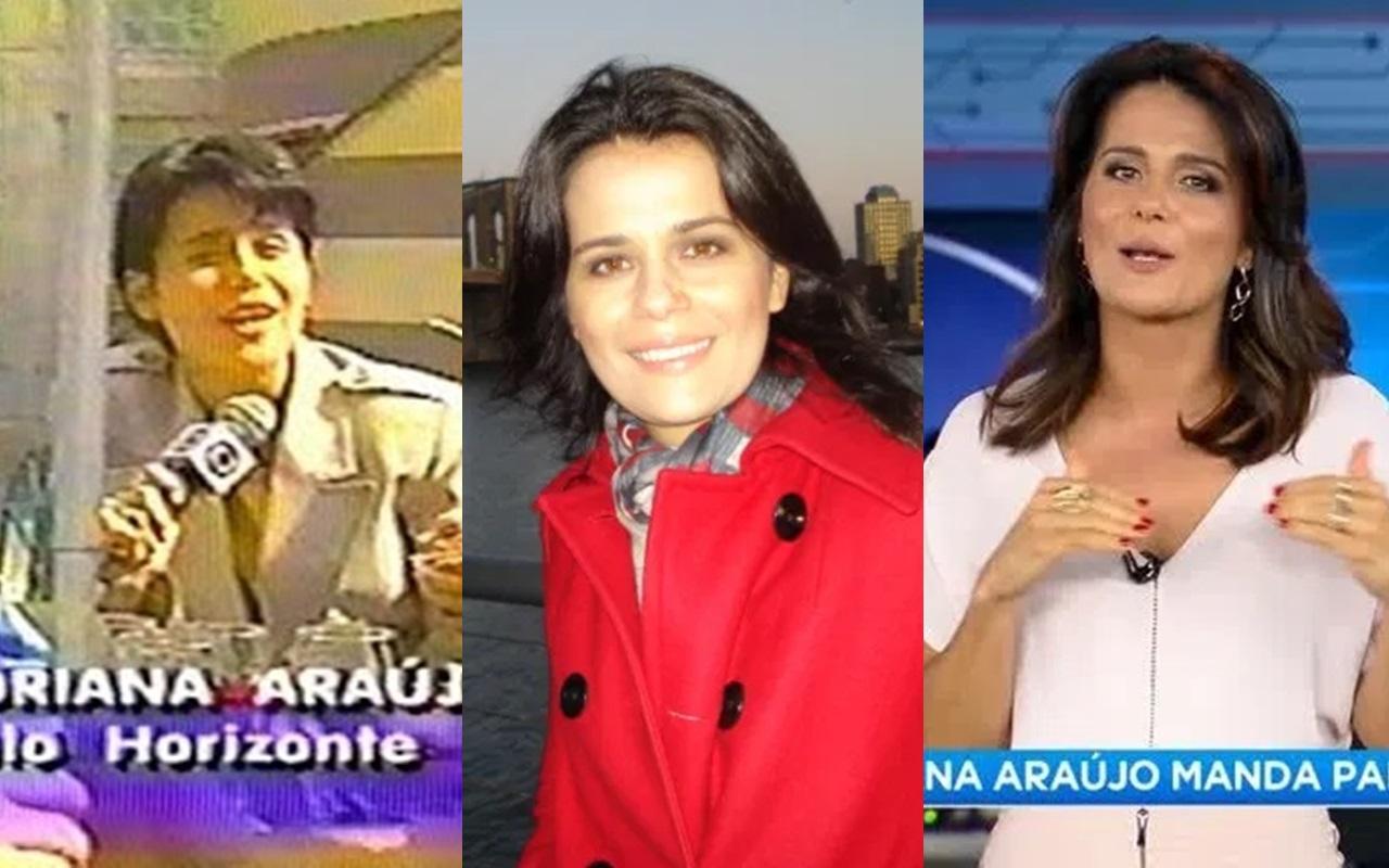 Conheça mais sobre a carreira de Adriana Araújo (Foto: montagem TV Foco)