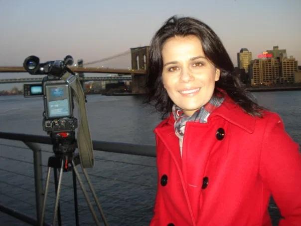 A jornalista já foi correspondente internacional (Foto: reprodução)