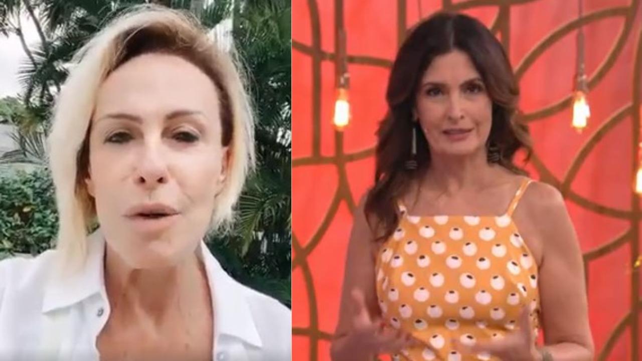 Ana Maria Braga ficou furiosa (Foto: Reprodução/Instagram/TV Globo)