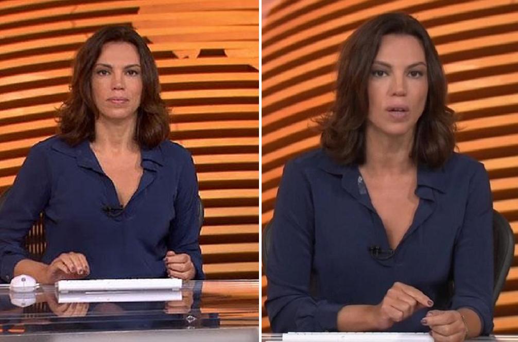 Ana Paula Araújo, apresentadora do Bom Dia Brasil - Foto: Reprodução/Montagem