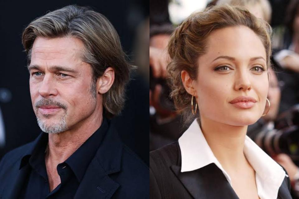 Após separação, Brad Pitt e Angelina Jolie anunciam reconciliação (Foto: Reprodução)