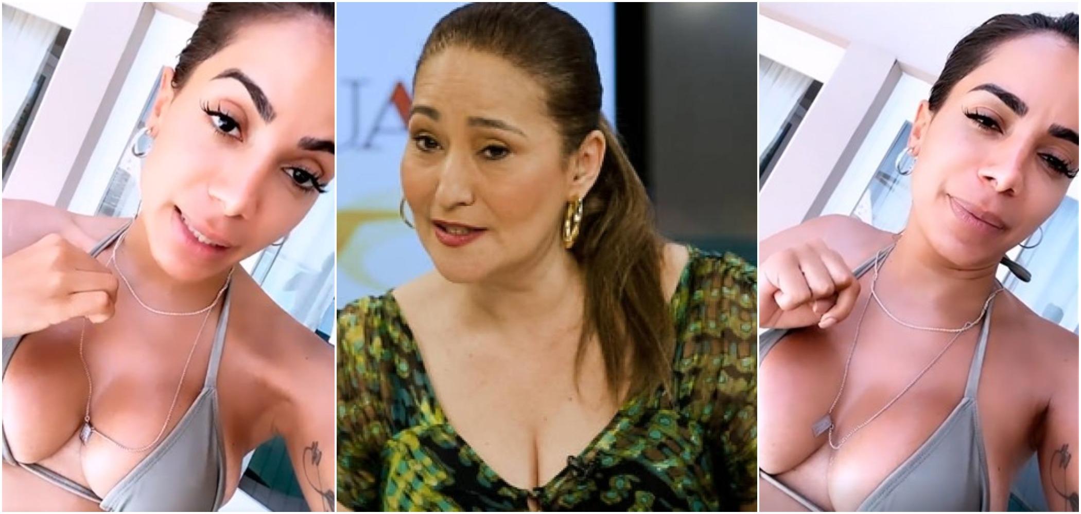 Sonia Abrão detonou as pretensões políticas de Anitta (Reprodução)